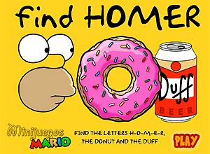 Find Homer