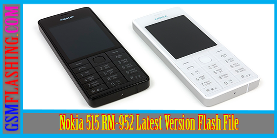Nokia 515 RM-952 Latest Version Flash File Free Download
