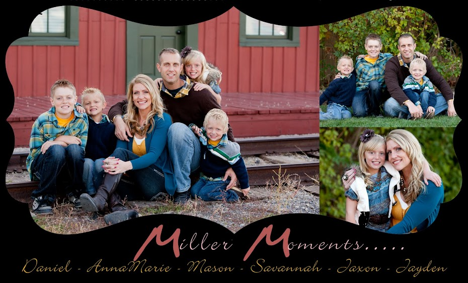 Daniel and AnnaMarie Miller Family