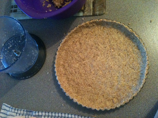 Chocolate Tart Almond Meal Crust
