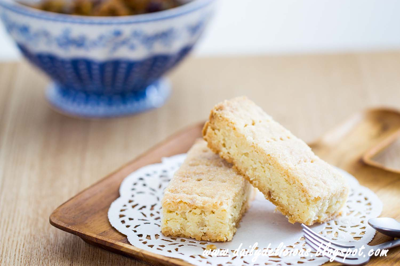 Macadamia Shortbread Cookies Recipe — Dishmaps