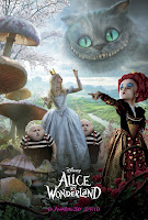Download Alice in Wonderland (2010) BluRay 720p x264 650MB Ganool