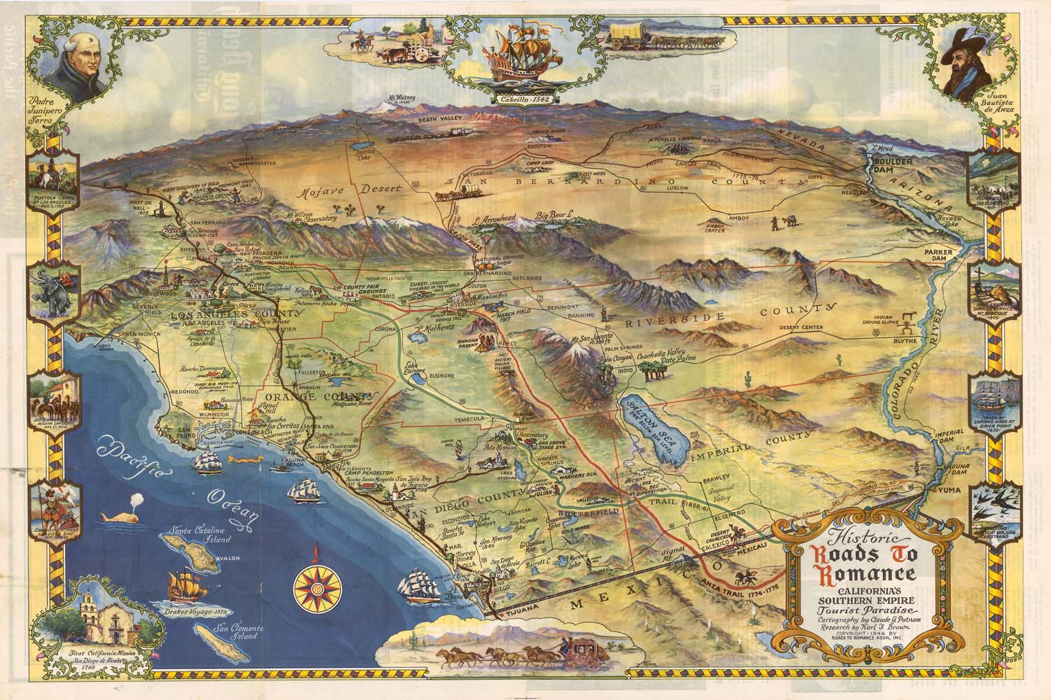 CSUDH Archives WHERE ARE YOU FROM  MAP EXHIBITION OPENS IN LIBRARY - Jo mora los angeles map