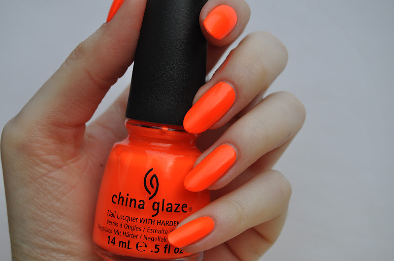 China Glaze Orange Knockout Swatches | Abbienail