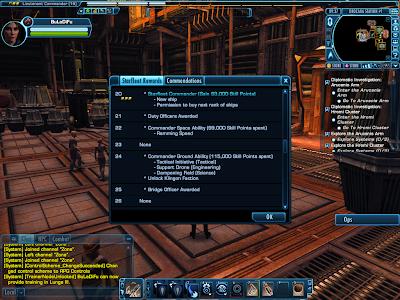 Star Trek Online - Level Up Rewards Unlocks