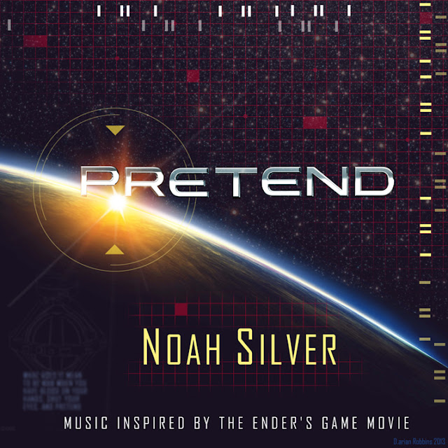 Ender's Game Inspired Music, Pretend, by Noah Silver, for the Ender's Game Movie Soundtrack, cover art  by Darian Robbins