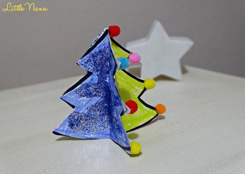 Diy arbol navidad 3D