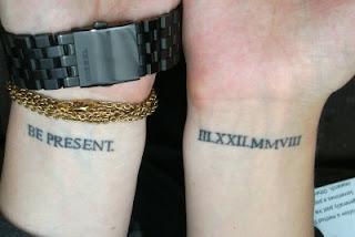 Tatuagem no punho