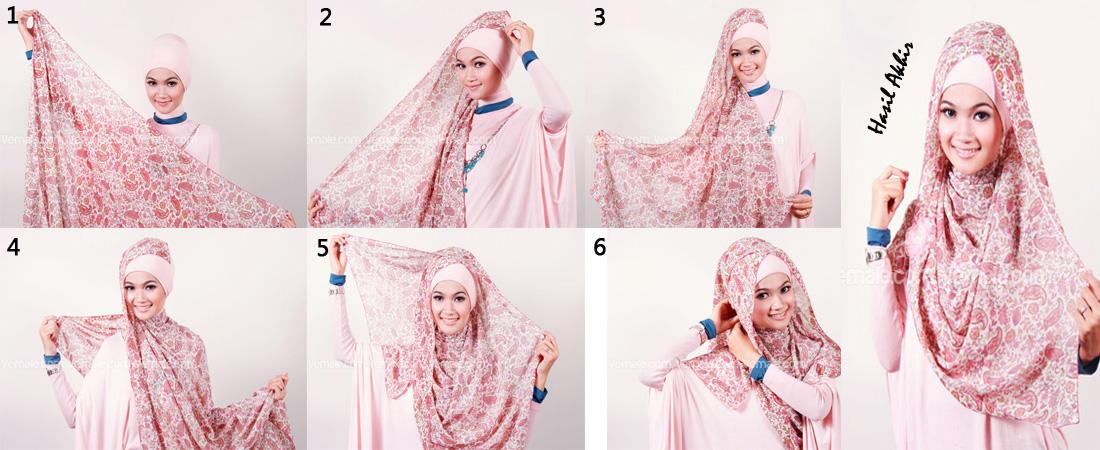 jilbab segi empat motif 1 siapkan jilbab segi empat bermotif