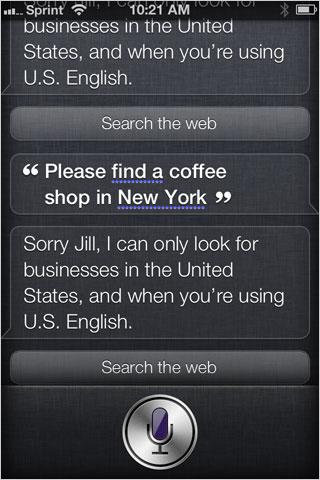 iOS Siri Web