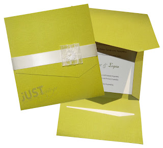 invitations for wedding lime color