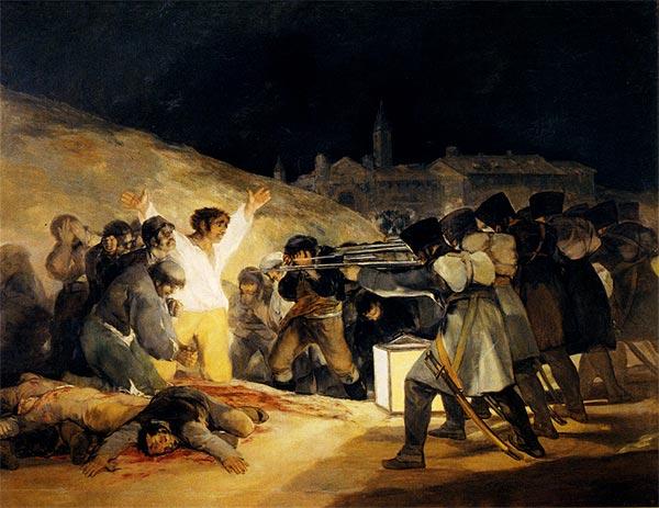 Fusilamientos del 2 de Mayo Francisco de Goya