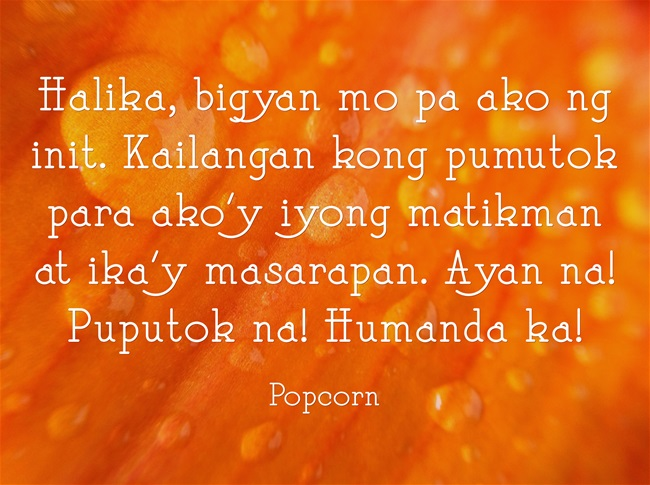 popcorn riddle joke