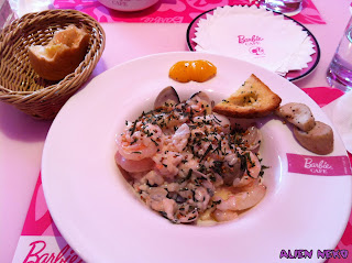 Barbie Seafood rosotto