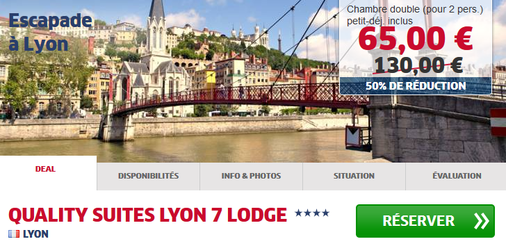 Quality Suites Lyon 7 Lodge HRS