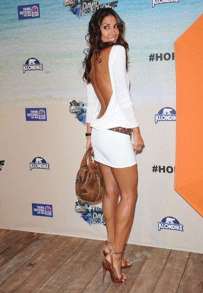 Leilani Dowding beautiful legs and calves in high heels