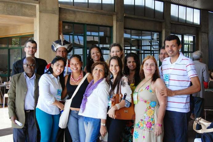 Parte da Delegação Capixaba: Encontro da IV Conf Nac de SAN + 2 anos (Março de 2014) - Brasília-DF