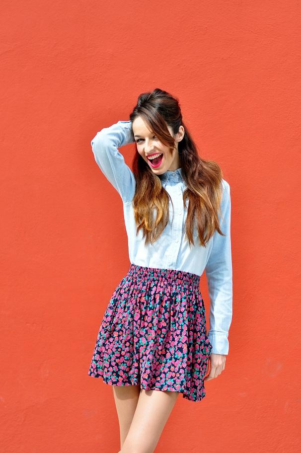 10 maneras de llevar una camisa vaquera Olivia Palermo  - imagenes de camisas vaqueras
