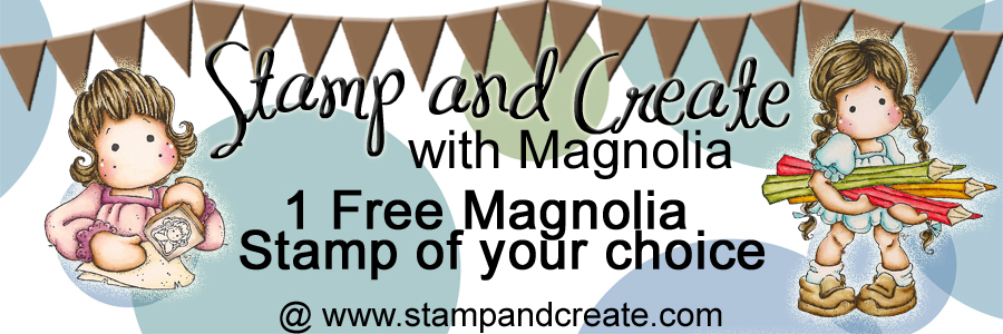Stamp and Create Magnolia challenge