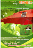 lampu Led panel surya