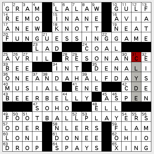 La crossword confidential september 2011 theme numb3rs for the theme answers clue numbers are part of the clue malvernweather Gallery
