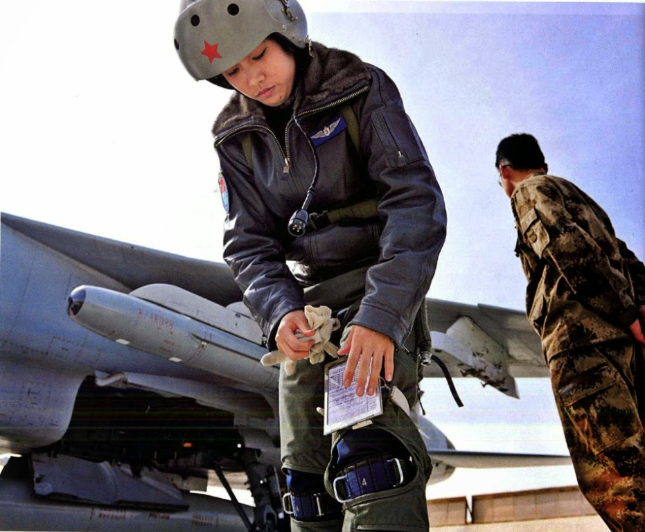 Juruterbang Jelita Jet Pejuang China