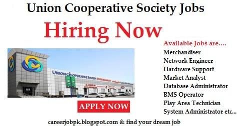 Jobs in Union Cooperative Society Dubai