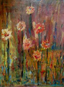 Floral - Acrilico (taller)