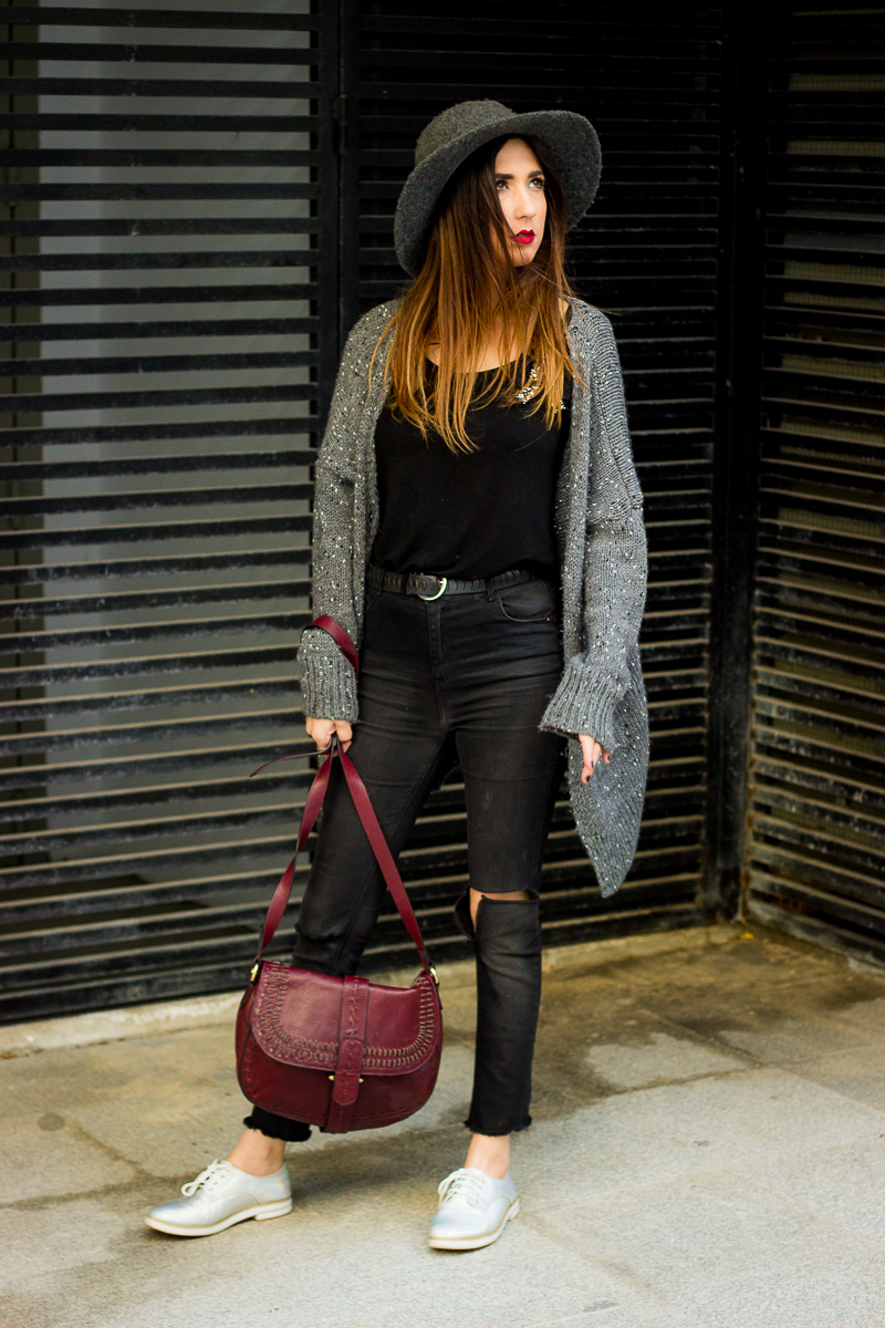 casual and cozy streetstyle