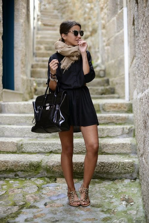Chic in black