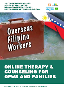 Online Therapy and Counseling for OFWs and Families