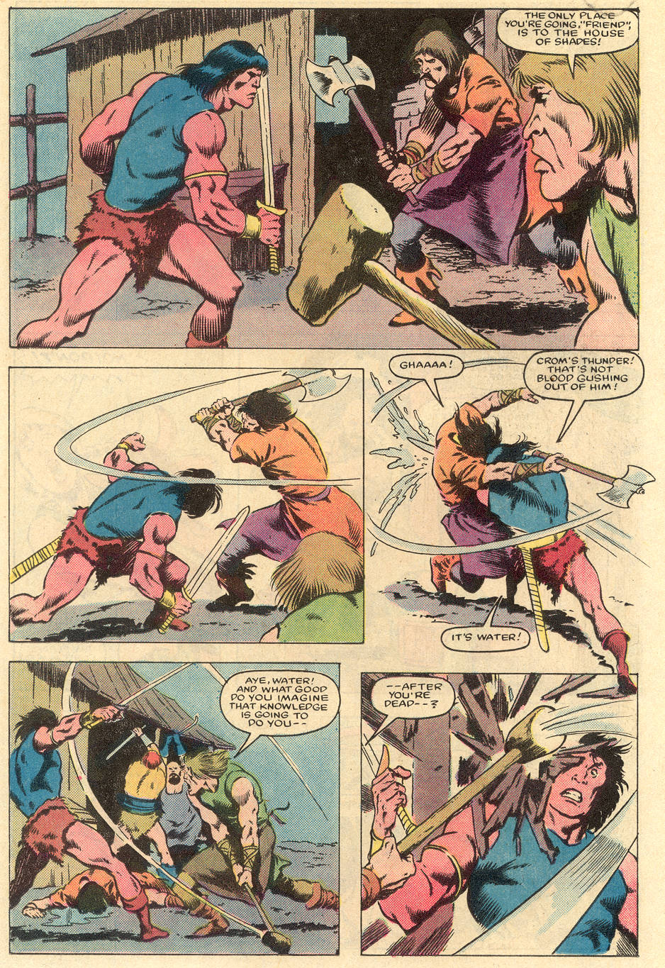 Conan the Barbarian (1970) Issue #163 #175 - English 13