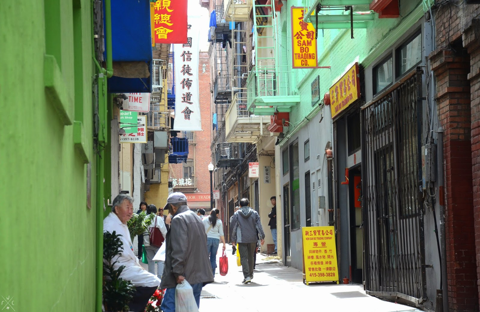 Chinatown, San Francisco, Californie, USA