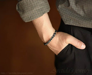 Chainmaille mens bracelet