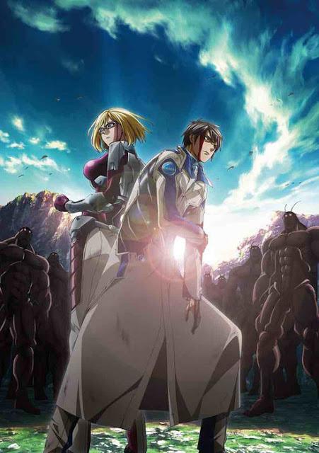 Visual Perdana Untuk Anime 'Terraformars Revenge' Telah Diperlihatkan