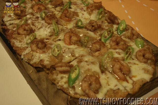 gambas pizza