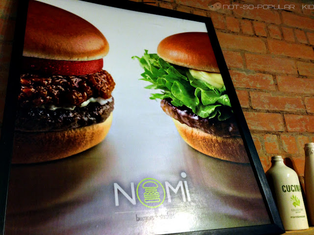 NOMI Burger near Agno and DLSU