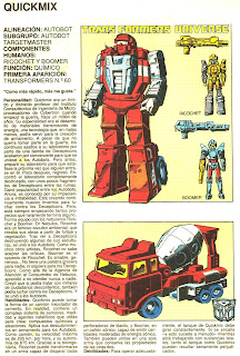 Quickmix (ficha transformers)