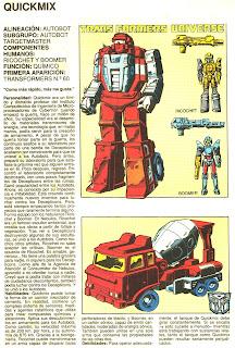Quickmix (ficha transformers)