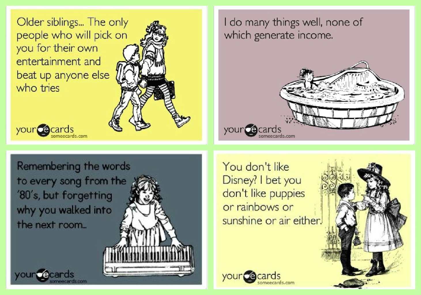 Funny Anniversary Ecards Living in Neverland: T...
