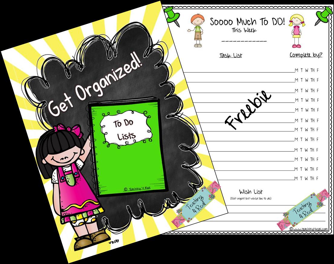 http://www.teacherspayteachers.com/Product/To-Do-List-Get-Organized-1299944