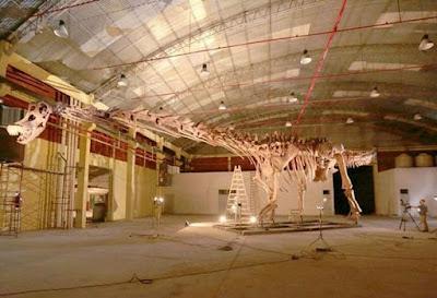 Ditemukan Spesies Baru Dinosaurus Paling Terbesar