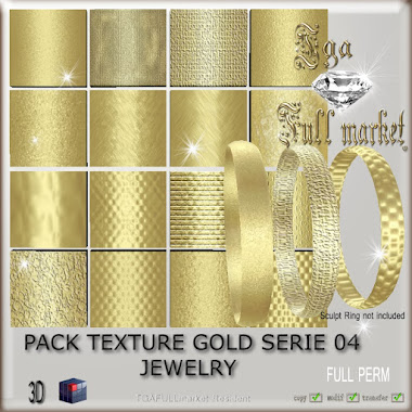 PACK TEXTURE GOLD SERIE 04 JEWELRY