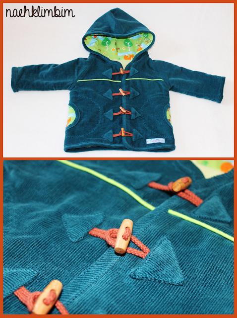 Herbstkind sew-along: mit schönen Knebelknöpfen