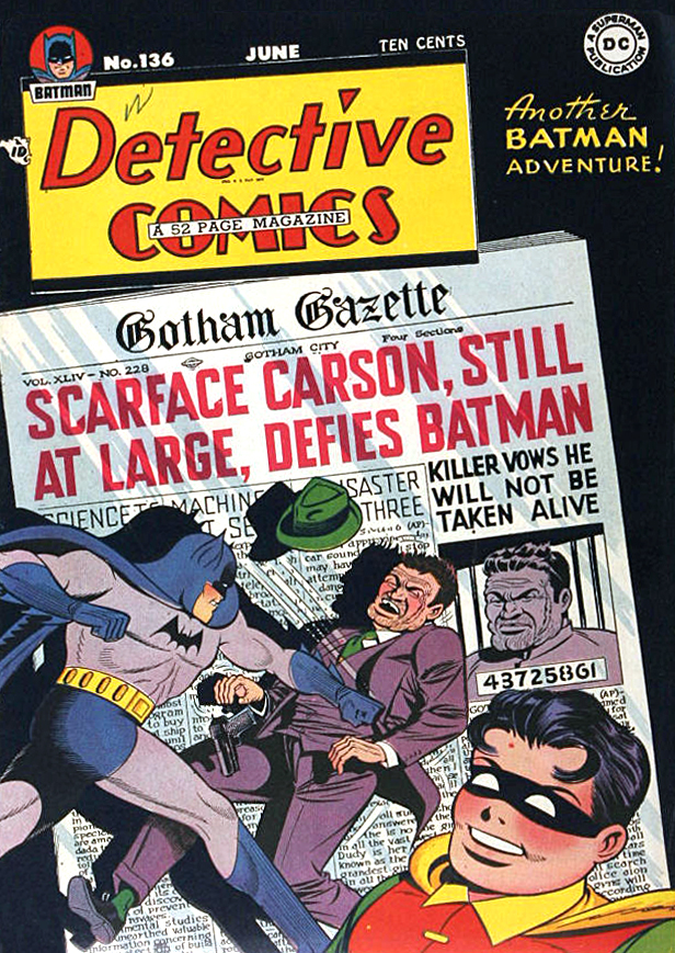 Detective Comics (1937) 136 Page 1