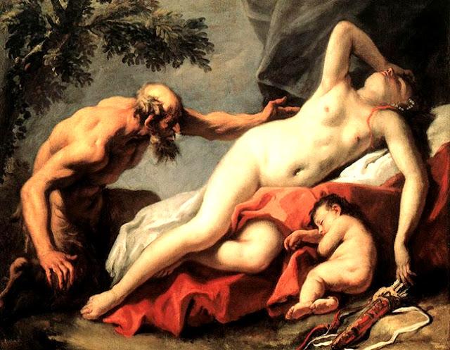 Cuerpos en el tiempo Sebastiano-ricci-venus-y-el-satiro-obras-maestras-de-la-pintura-juan-carlos-boveri