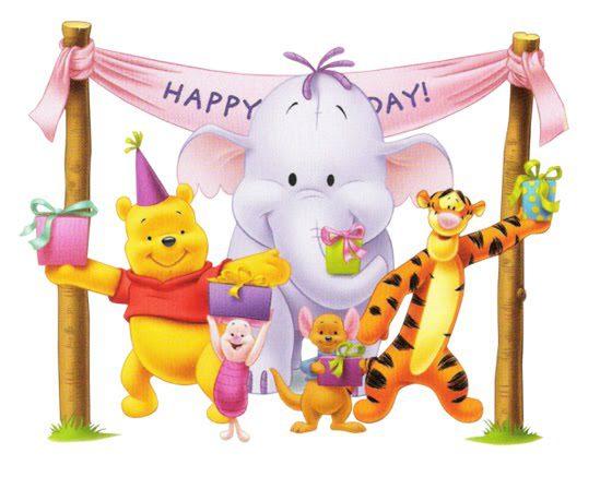 Winnie the Pooh Happy Birthday
