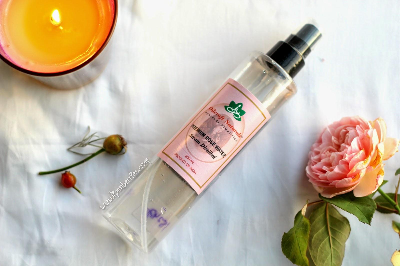 Oilcraft naturals premium rosewater