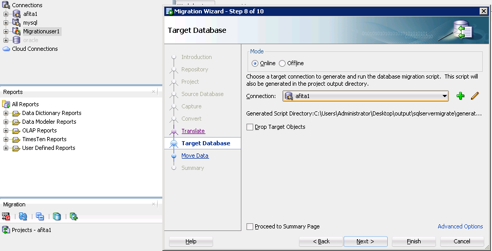 how to create schema in oracle 11g using sql developer