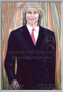 PAVEL NEDVED Portrait Drawing Soccer Football Khaled3Ken Gallery